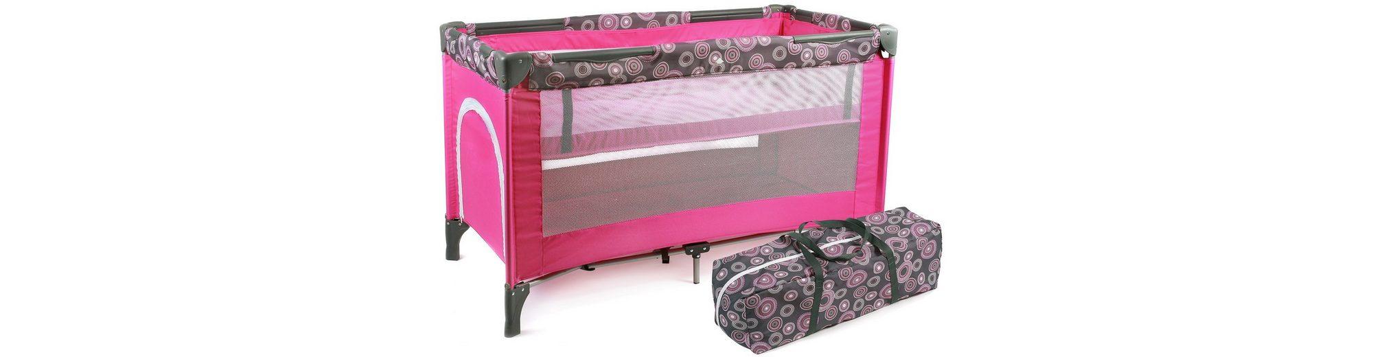 CHIC4BABY Reisebett, »Luxus, hot pink«