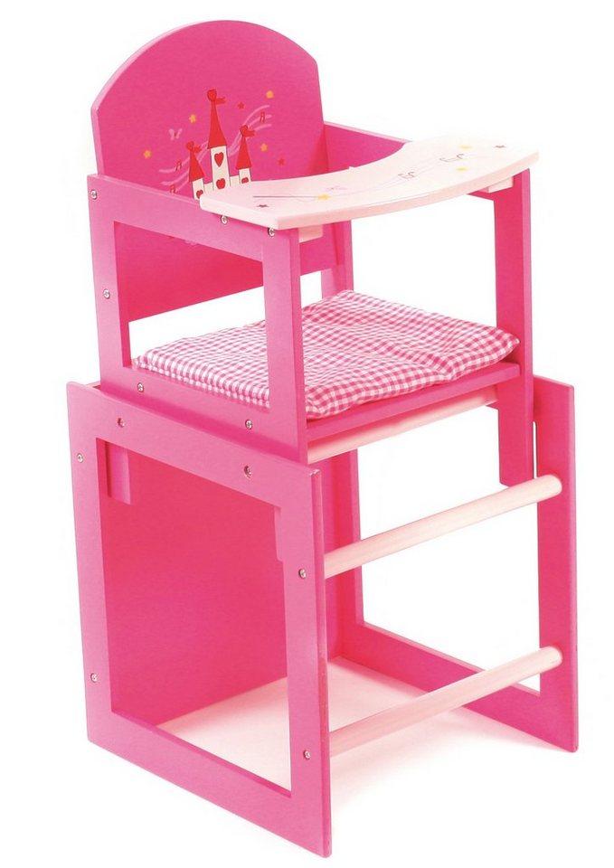 CHIC2000 Puppenhochstuhl 2-teiliges Set, »Little Fairy« in pink