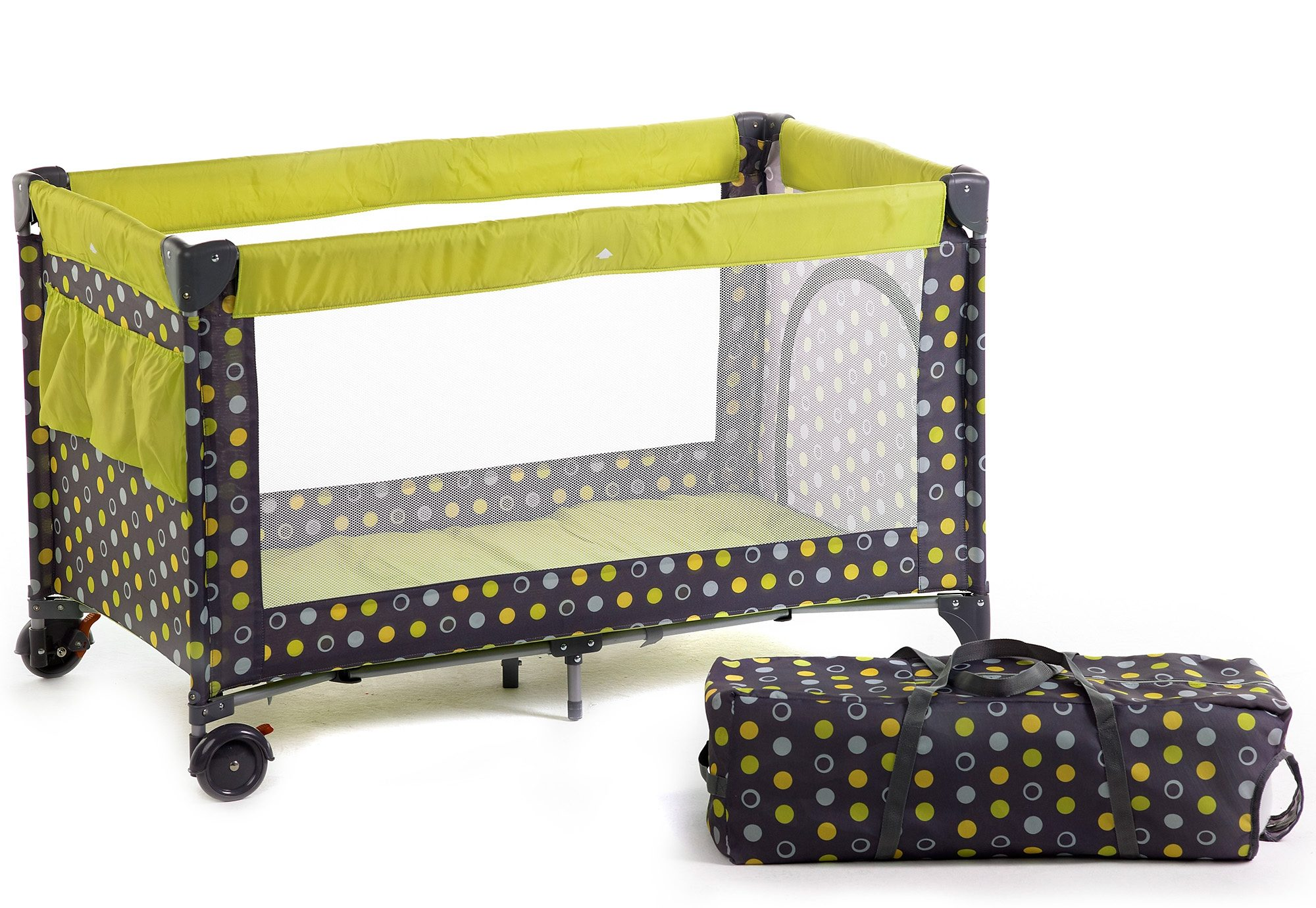 CHIC4BABY Reisebett, »Luxus, lemontree«