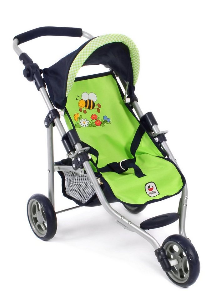 CHIC2000 Puppen-Jogging-Buggy, »Lola, Bumblebee« in grün