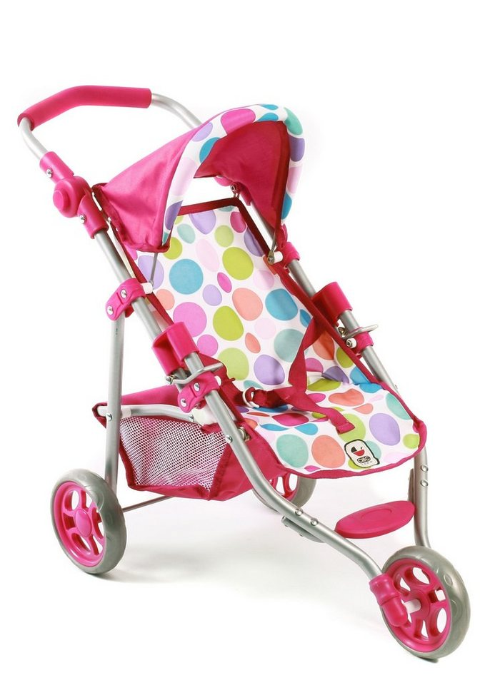 CHIC2000 Puppen-Jogging-Buggy, »Lola, Pinky Bubbles« in pink