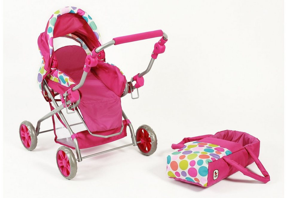 CHIC2000 Puppenwagen, »Piccolina, pink« in pink