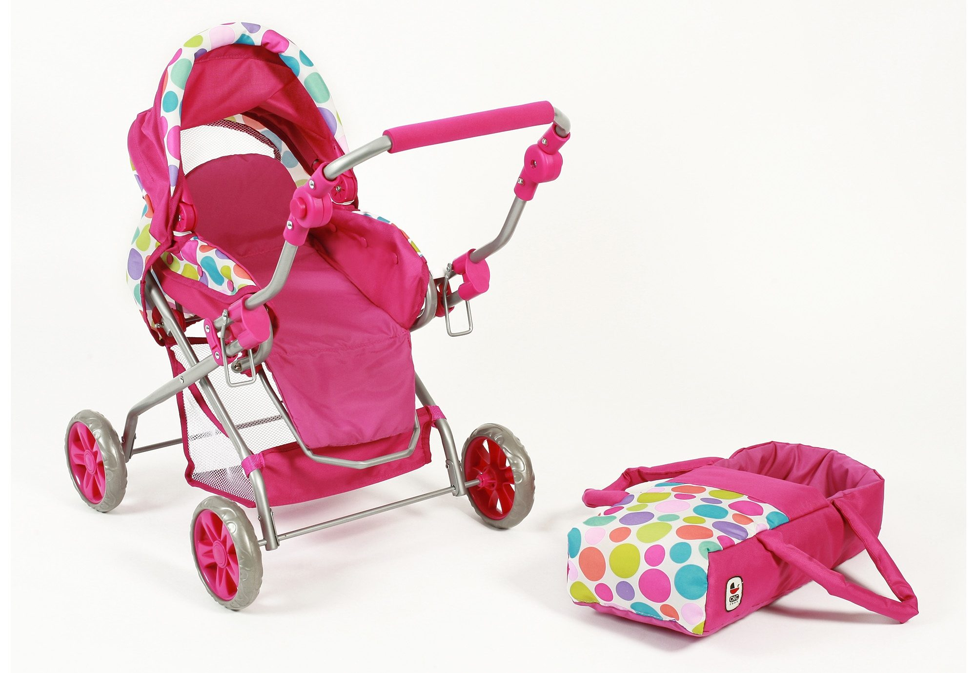 CHIC2000 Puppenwagen, »Piccolina, pink«