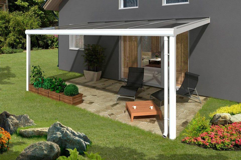 skanholz terrassendach modena breite 541 cm wei. Black Bedroom Furniture Sets. Home Design Ideas