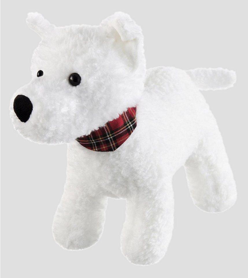 Schaffer Plüschhund, »West Highland Terrier- Westi« in weiß
