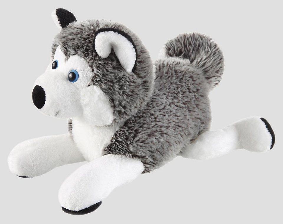 Schaffer Plüschtier, »Schlittenhund- Husky« in grau/weiß