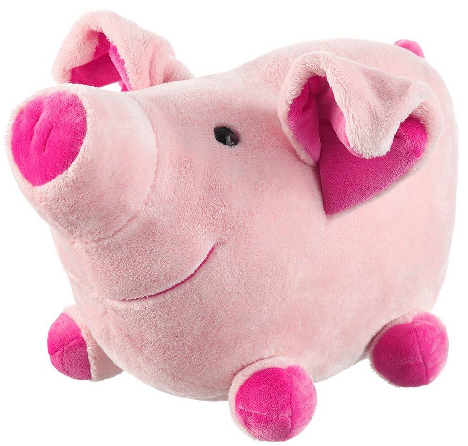 Schaffer Plüschtier, »Schwein-Loulou« in rosa