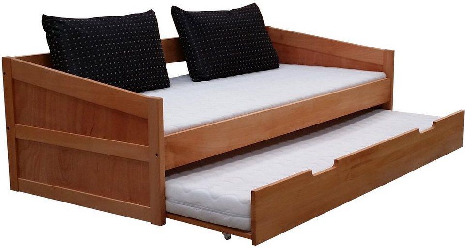 home affaire daybett versa mit ausziehbarer zweiter liegefl che online kaufen otto. Black Bedroom Furniture Sets. Home Design Ideas