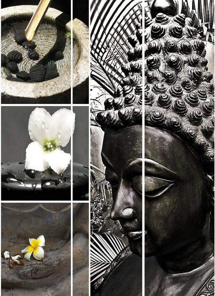 Home affaire Paravent »Meditation« in bunt