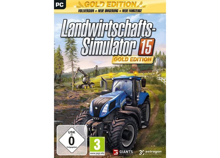 Astragon PC - Spiel »Landwirtschafts-Simulator 15: Gold-Edition«