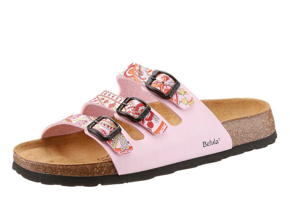 Betula Pantolette »Woogie Paisley« in rosa kombiniert