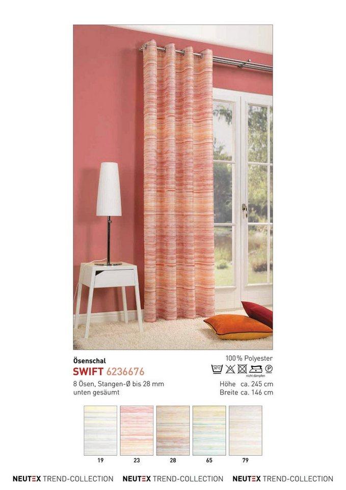 Vorhang, deko trends, »Swift«, mit Ösen (1 Stück)