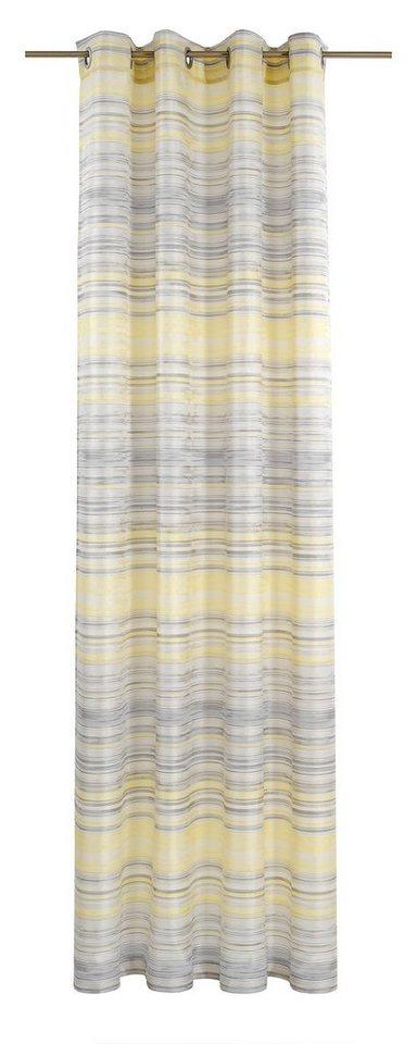 Vorhang, deko trends, »Swift« (1 Stück) in beige/gelb/grau