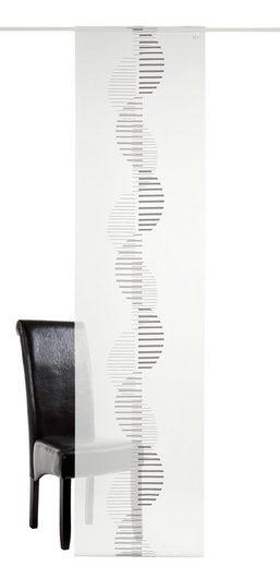Schiebegardine »Intro«, DEKO TRENDS, Klettband (1 Stück), inkl. Befestigungszubehör