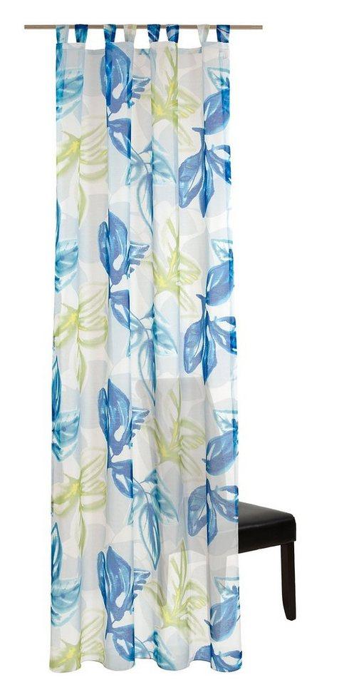 Vorhang, deko trends, »Hawaii« (1 Stück) in Grün-blau