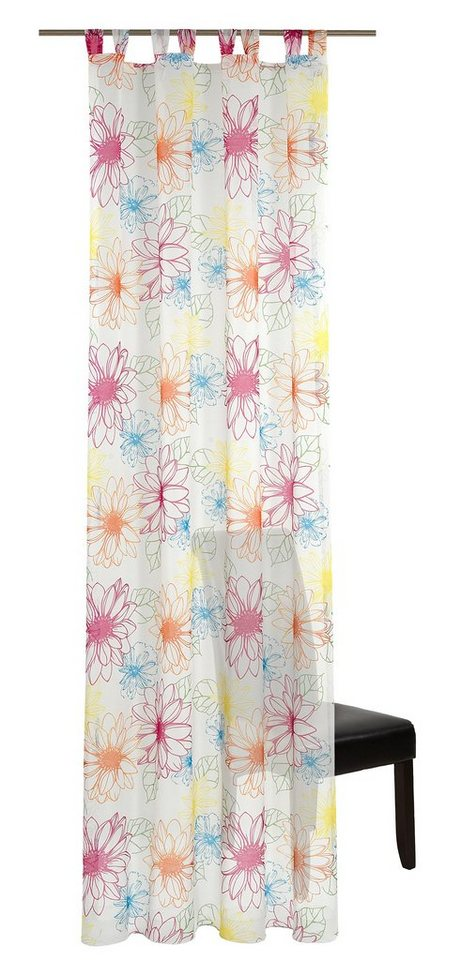 Vorhang, deko trends, »Bounty« (1 Stück) in wollweiß/multic