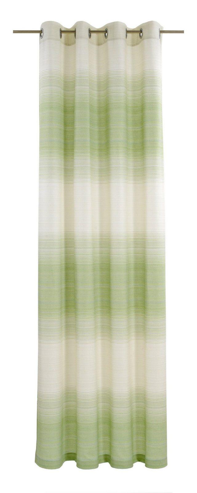 Vorhang, deko trends, »Flow«, mit Ösen (1 Stück) - broschei