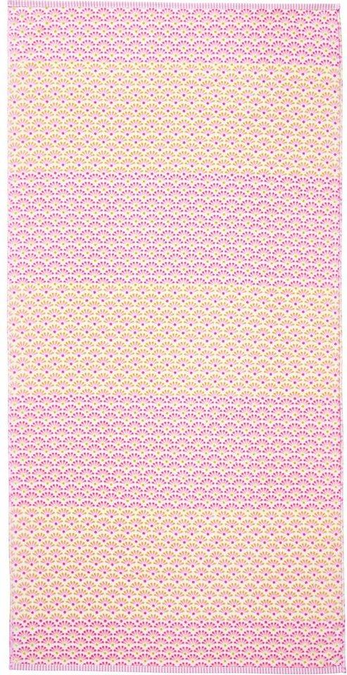 Badetuch, PiP Studio, »Blooming Tails«, mit grafischen Blüten in star white