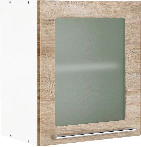 Glashängeschrank, Held Möbel, »Malta« in Eiche-Sonoma