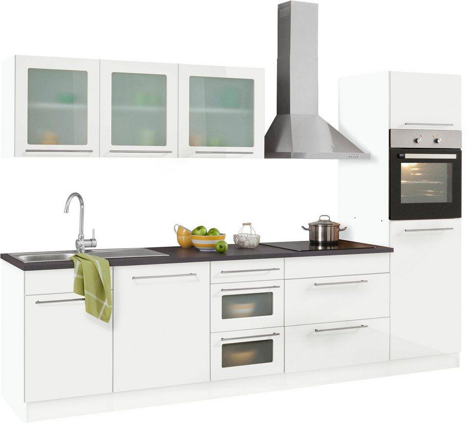 küchenzeile held mÖbel maltaohne e geräte breite 300 cm