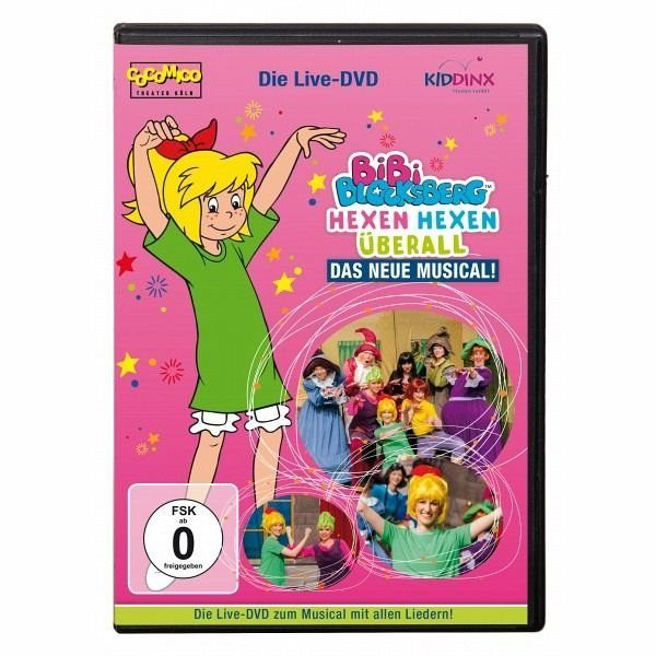 DVD »Bibi Blocksberg. Hexen hexen überall«