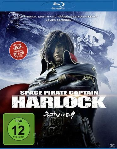 Blu-ray »Space Pirate Captain Harlock 3D-Edition«