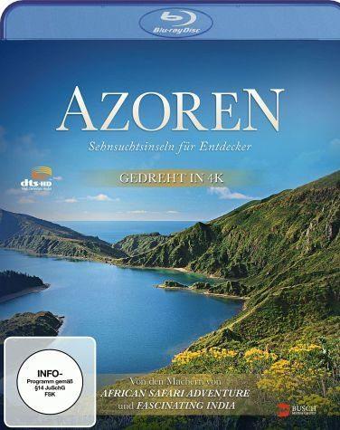 Blu-ray »Azoren - Sehnsuchtsinseln für Entdecker«