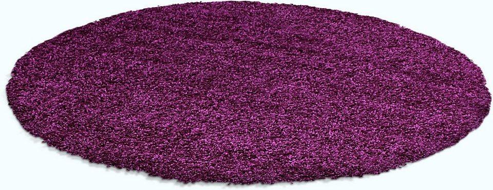 hochflor teppich shaggy 8000 trend teppiche rund h he 30 mm online kaufen otto. Black Bedroom Furniture Sets. Home Design Ideas