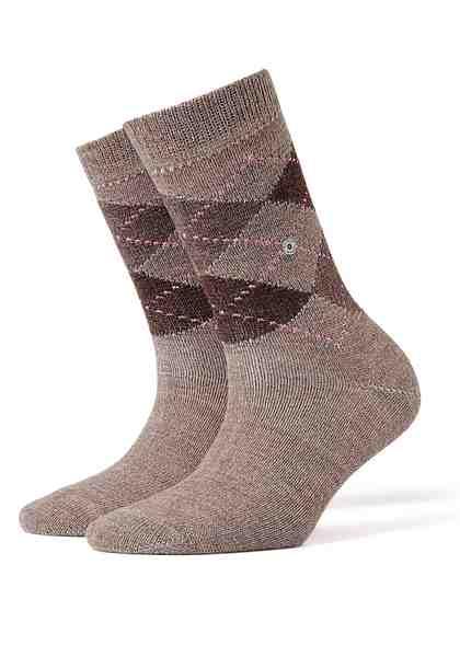 Burlington Socken »Whitby« im klassischen Argyle-Design