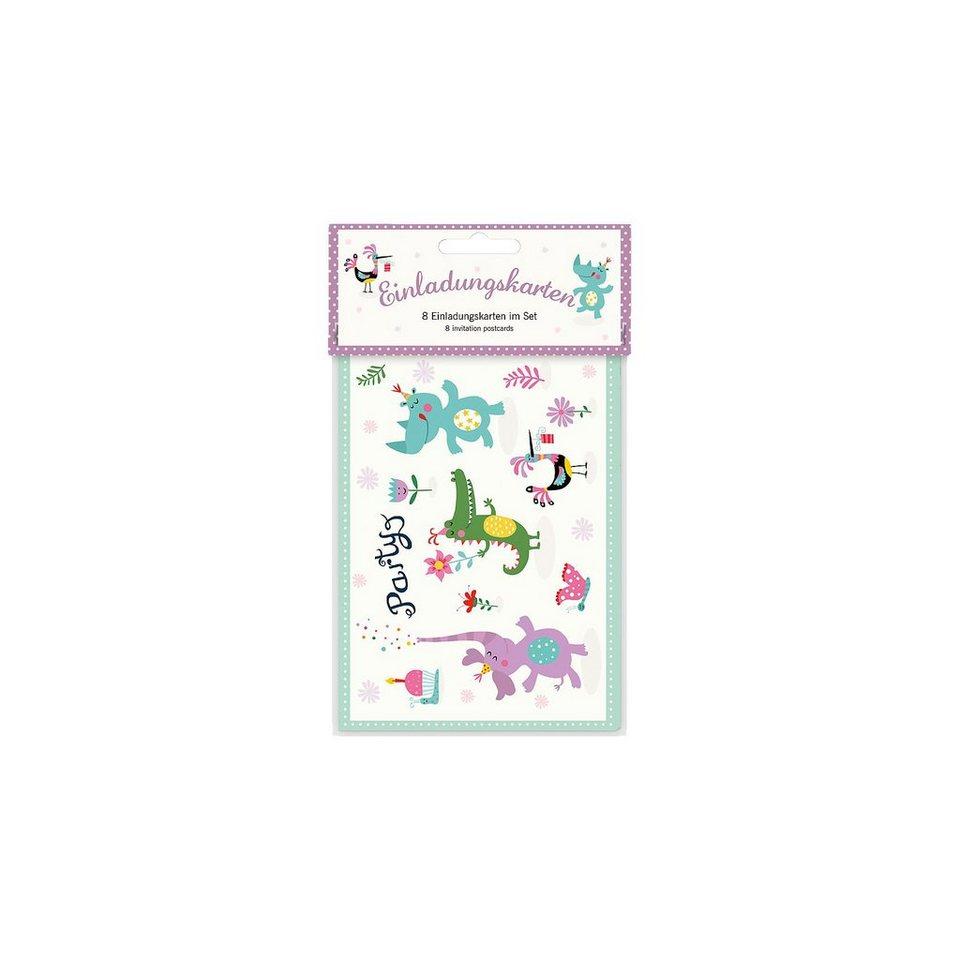 Grätz Verlag Einladungspostkarten-Set, 8 Stück