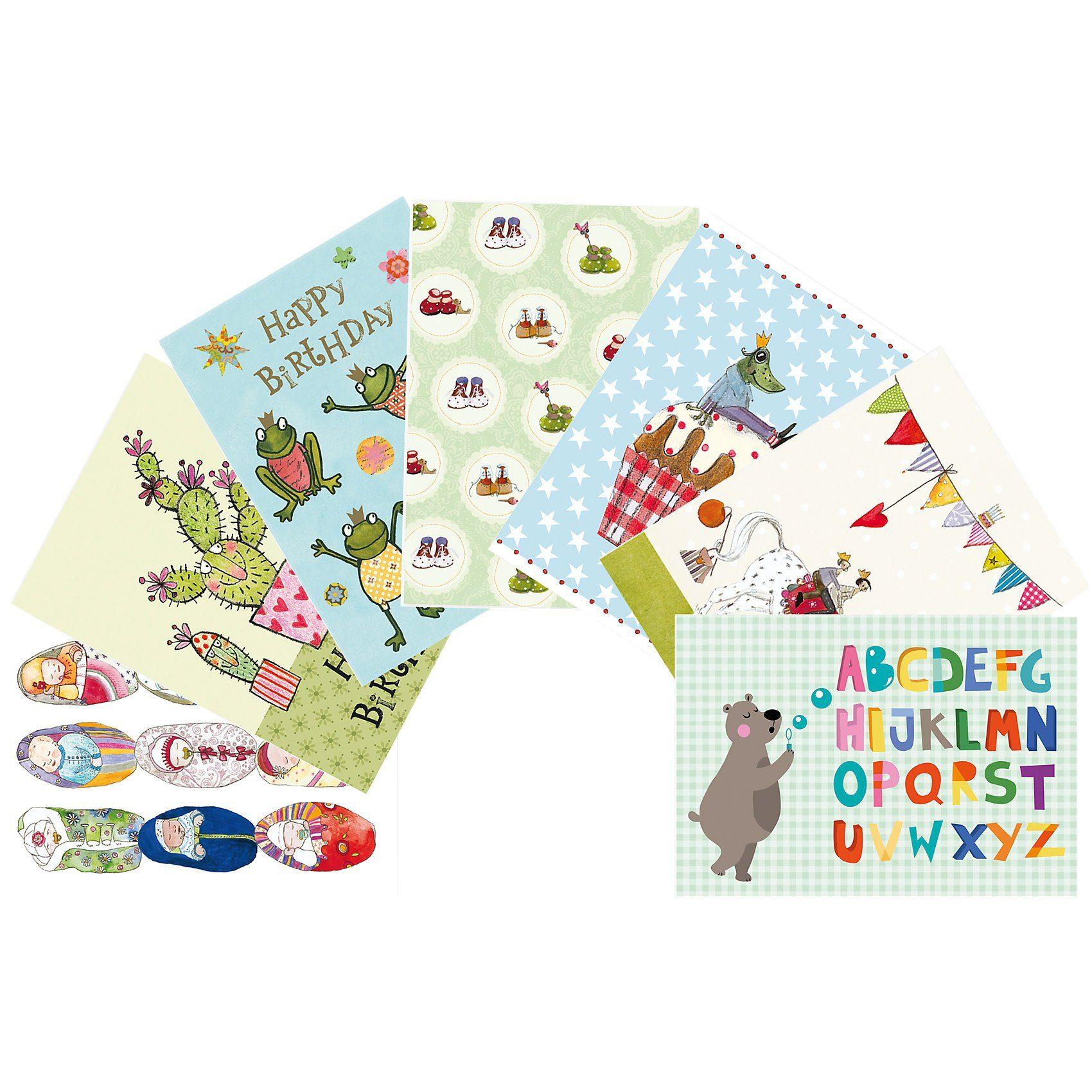 Grätz Verlag Kinder-Postkarten-Set, 7 Stück
