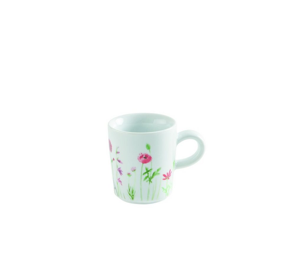 Kahla Espresso-Obertasse »Magic Grip Five Senses Wildblume« in Rot, Gelb
