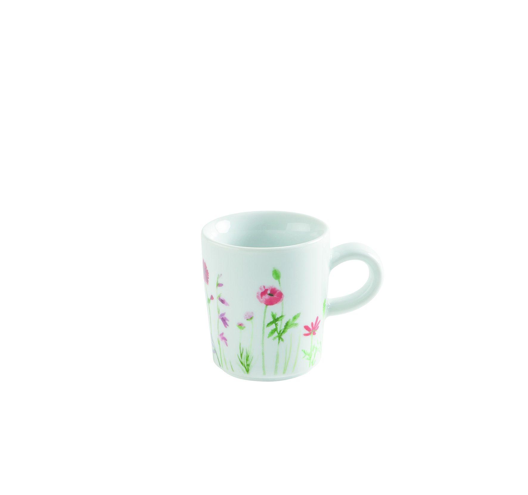 Kahla Espresso-Obertasse »Magic Grip Five Senses Wildblume«