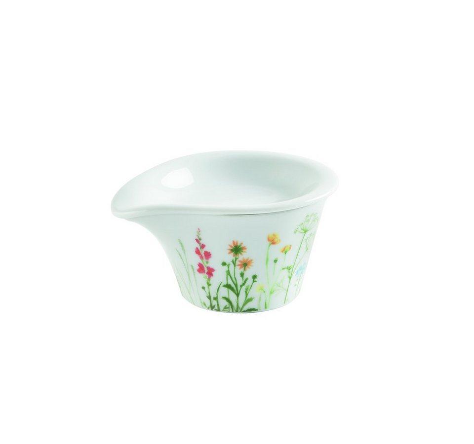 Kahla Soßenschälchen + Deckel-Dip »Magic Grip Five Senses Wildblume« in Weiß