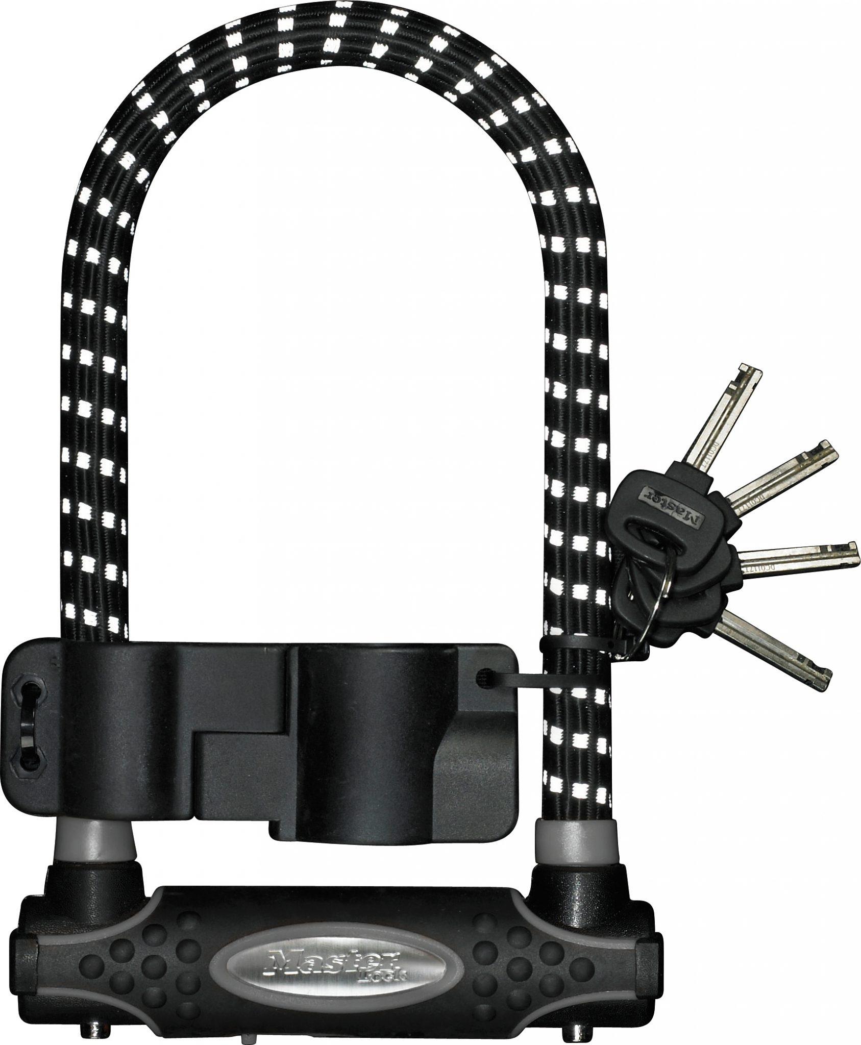 Masterlock Bügelschloss »8195 Bügelschloss 13 mm x 210 mm x 110 mm«
