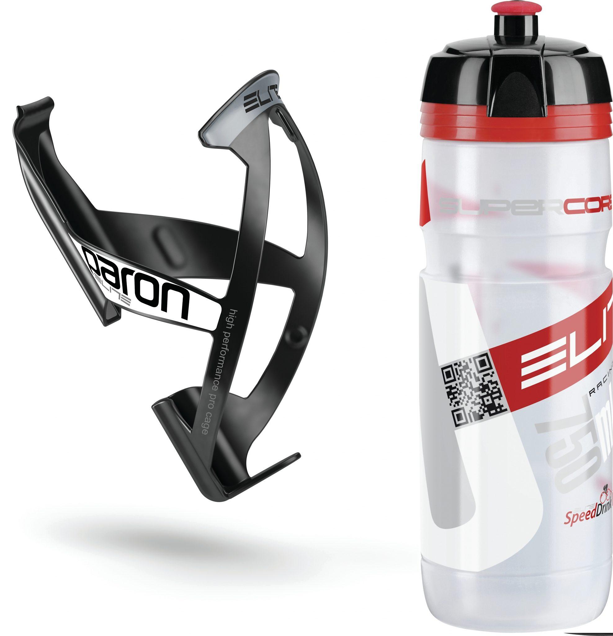 Elite Trinkflasche »Kit Supercorsa/Paron Trinkflasche & Halter 750 ml«