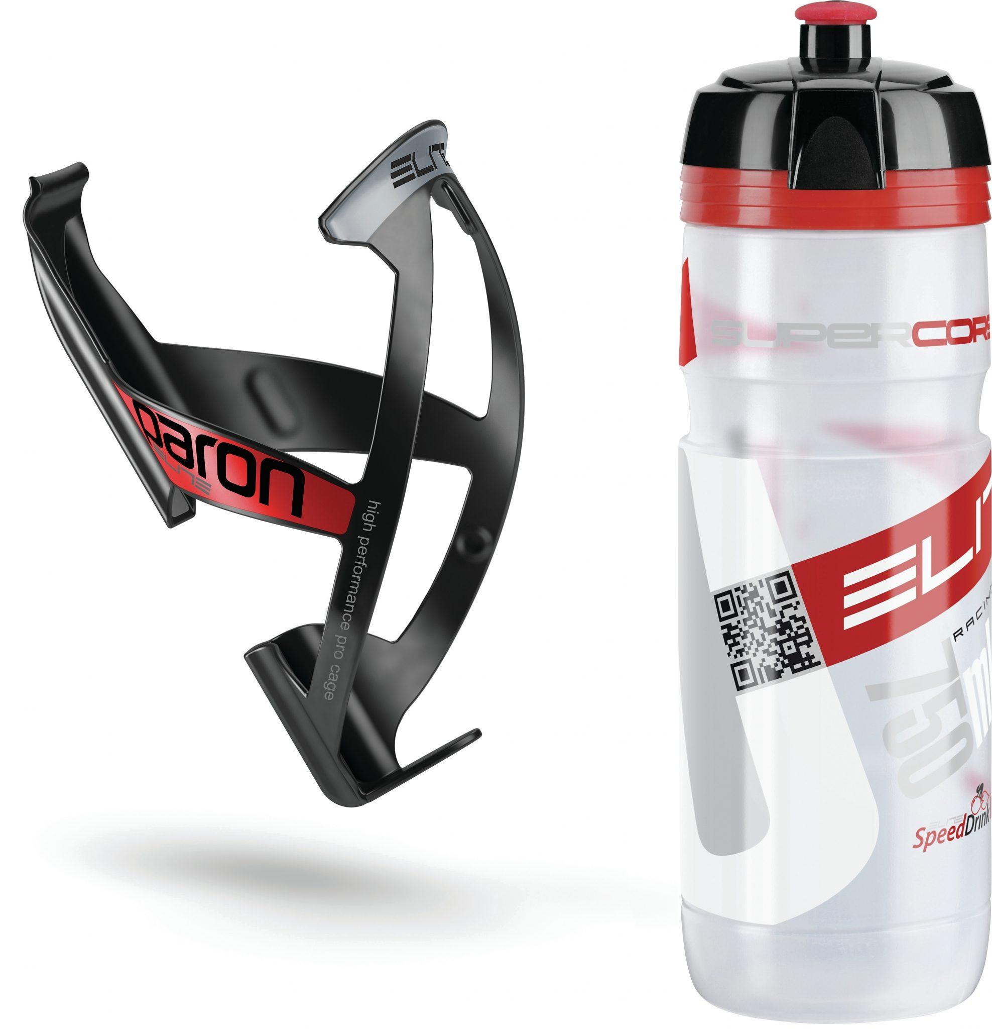 Elite Trinkflasche »Elite Kit Supercorsa/Paron Trinkflasche & Halter«