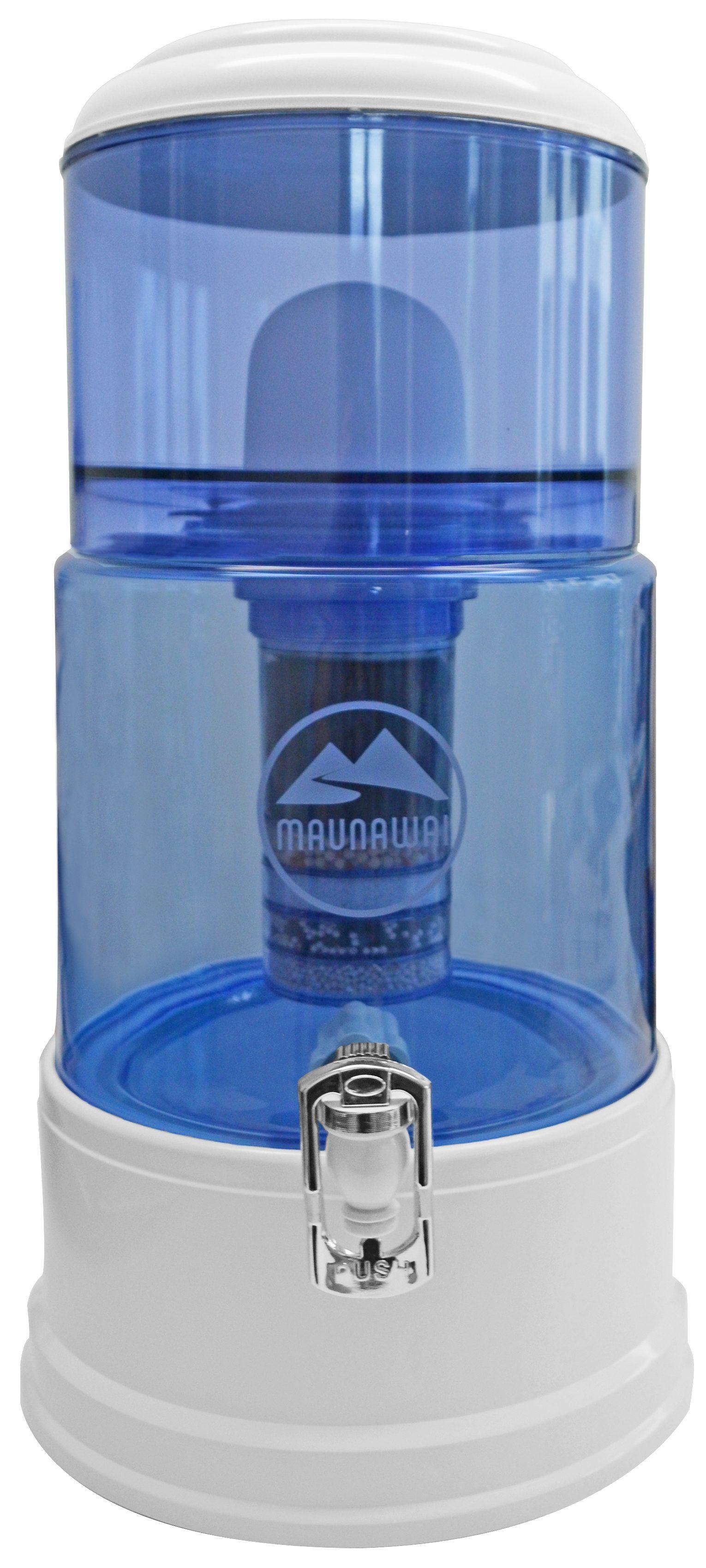 Maunawai Wasserfilter System mit Glasbehälter, »®PRIME K8 « für hartes Leitungswasser