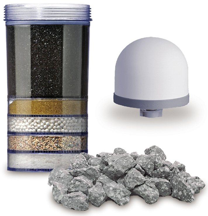 Maunawai Set: Refresh Paket für weiches Leitungswasser (2°-7,5°dH), »Pi®PRIME K2 « (3tlg.) in transparent