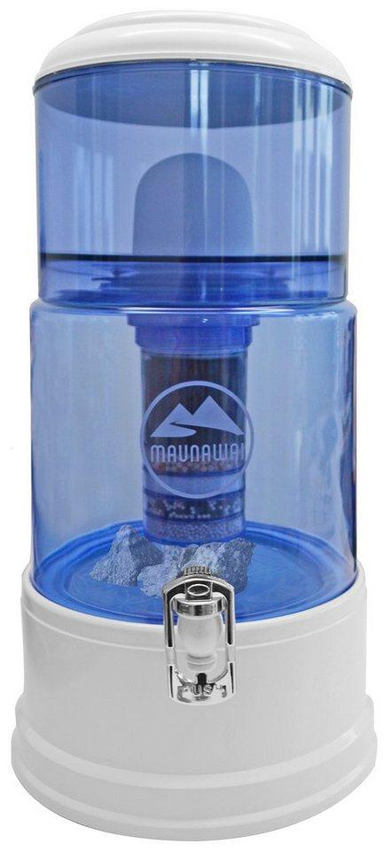 Maunawai Wasserfilter System mit Glasbehälter für weiches Leitungswasser (2°-7,5°dH), »Pi®PRIM in transparent