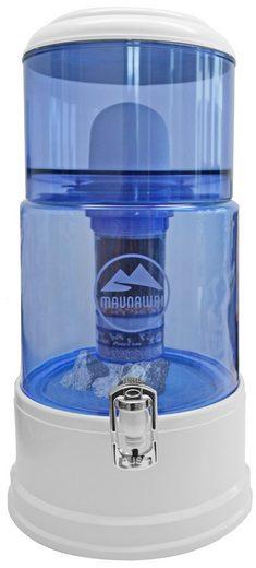 maunawai wasserfilter system mit glasbeh lter f r weiches leitungswasser 2 7 5 dh pi prim. Black Bedroom Furniture Sets. Home Design Ideas