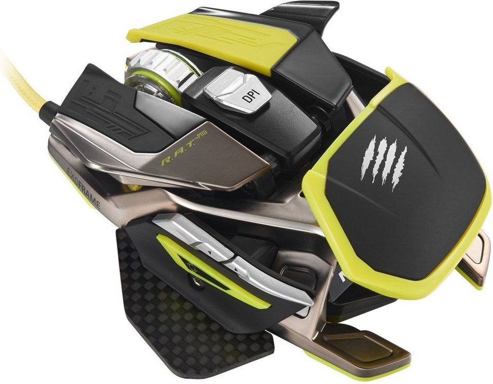 Mad Catz R.A.T. Pro X Gaming Mouse - Pixart PMW 3310 (optisch) »(PC)«