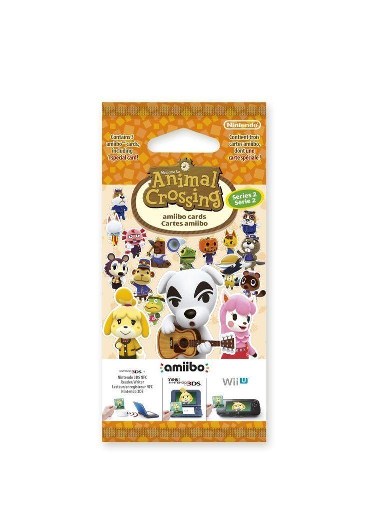 Nintendo Wii U - Spiel »amiibo Karten 3 Stck. Animal Crossing Vol. 2«