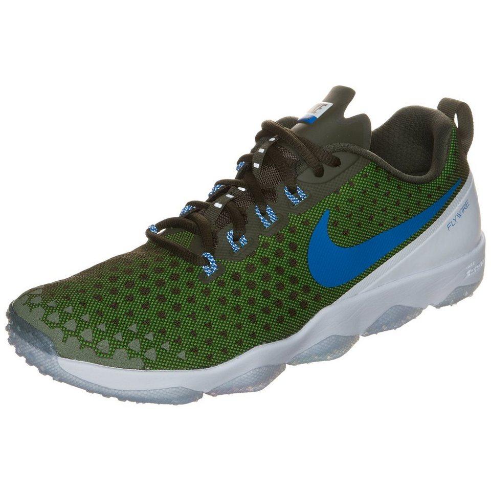 NIKE Zoom Hypercross TR 2 Trainingsschuh Herren in oliv / grün / blau