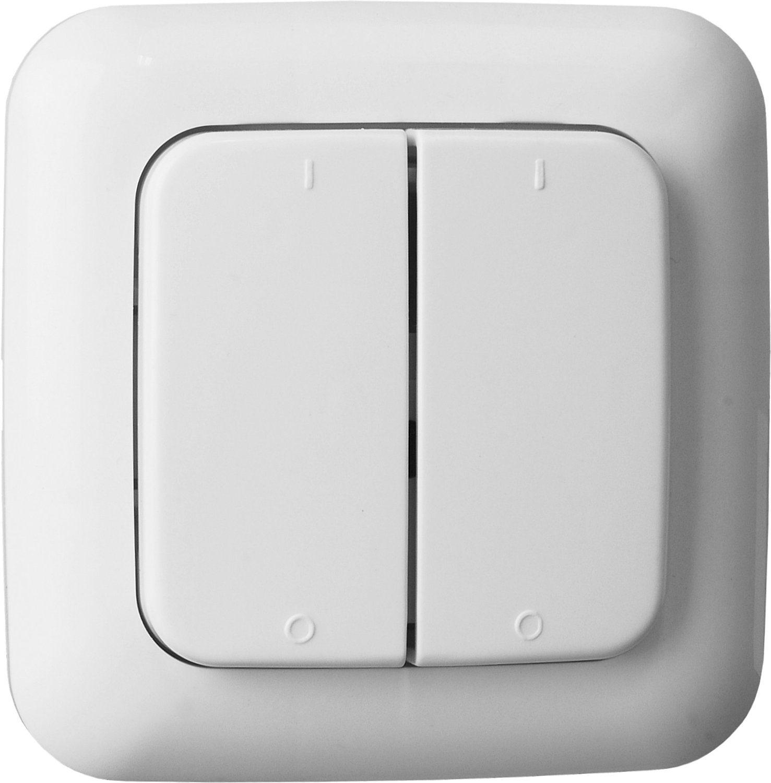 smartwares Smart Home Energie & Komfort - Funk-Doppelwandschalter 2-Kanal »SH5-TSW-B«