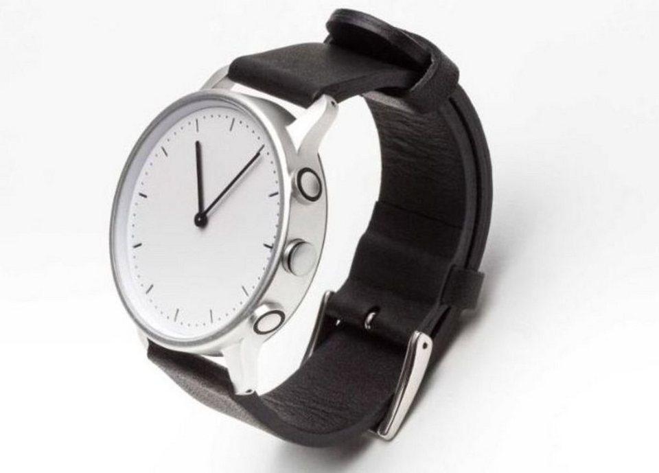 Nevo Smartwatch »Paris (L) - Fitness Watch« in Silber-Schwarz