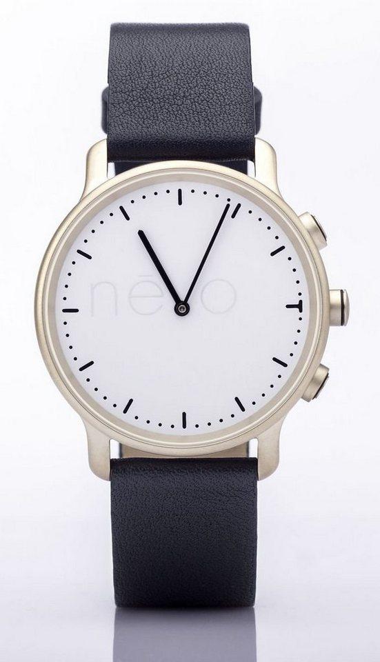 Nevo Smartwatch »Shanghai (S) - Fitness Watch« in Champagne-Dunkelblau