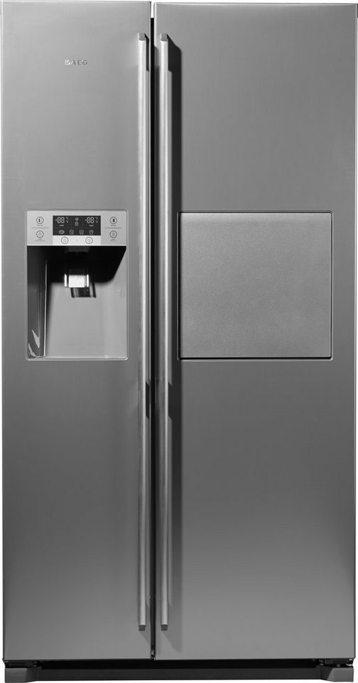AEG Side-by-Side S66090XNS1 / SANTO, A+, 177,0 cm hoch in Edelstahl-Look