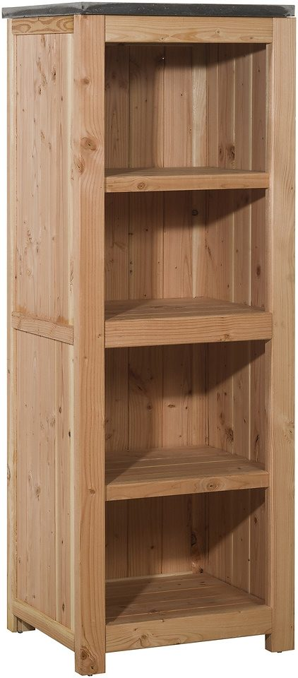 Küchenregal , Douglasienholz, 62x56x168 cm, natur