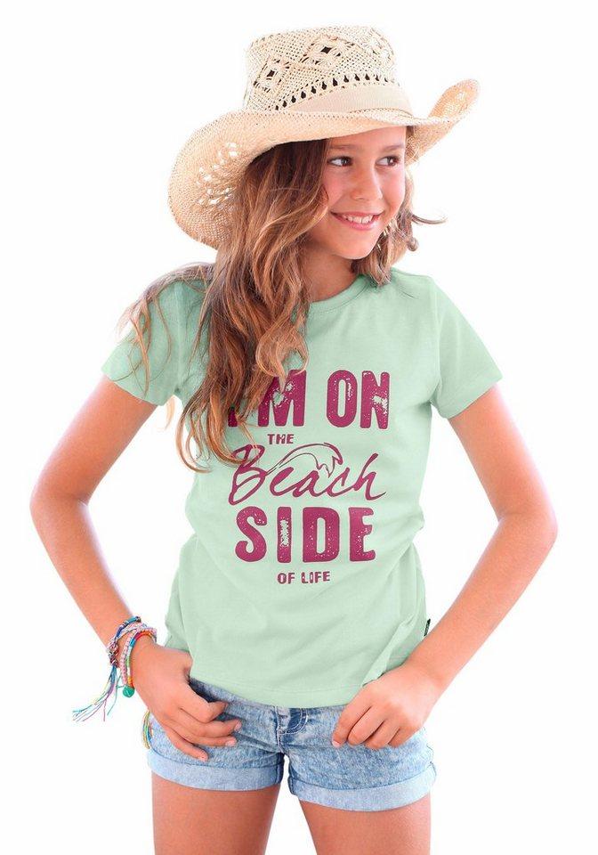 Arizona T-Shirt mit Frontdruck, für Mädchen in mint